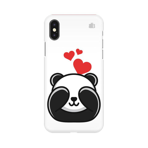 Panda In Love Apple iPhone 9 Plus Cover