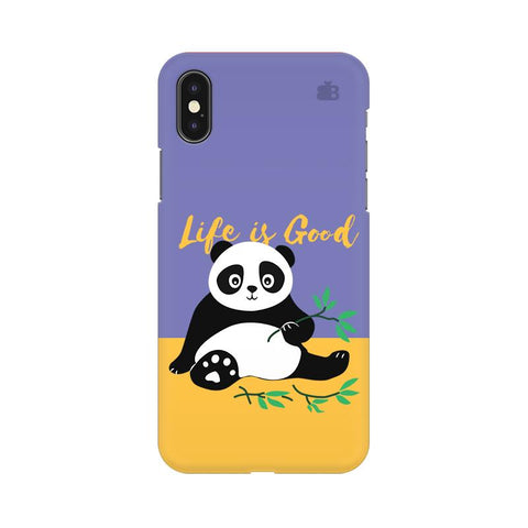 Panda Life is Good Apple iPhone 9 Plus Cover