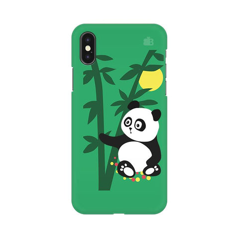 Panda in Woods Apple iPhone 9 Plus Cover