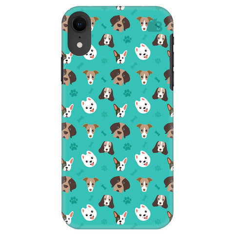 Doggie Pattern Apple Iphone Xr Cover