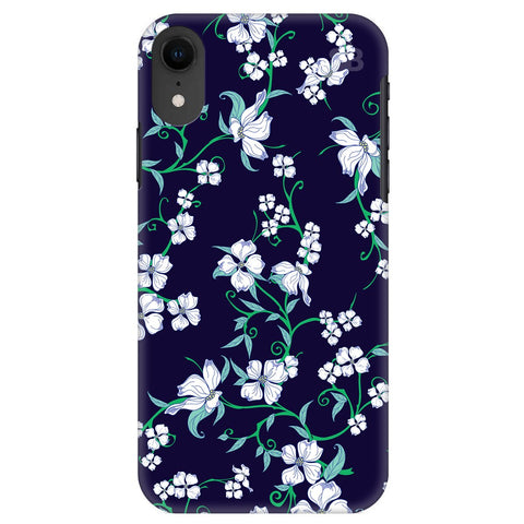 Dogwood Floral Pattern Apple Iphone Xr Cover