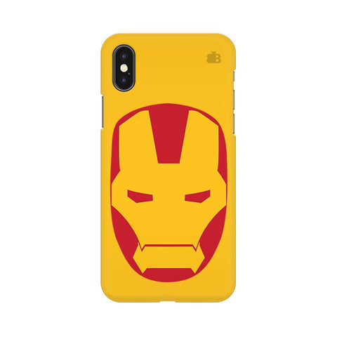 Angry Superhero Mask Apple iPhone XS Cover