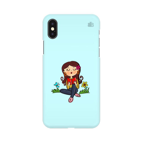 Books & Chill Apple iPhone XS Cover