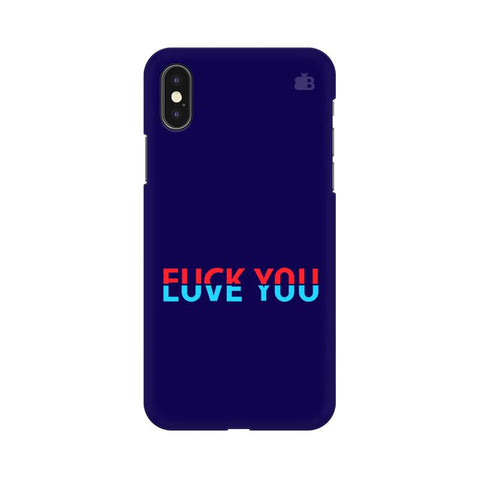 F L You Apple iPhone XS Cover