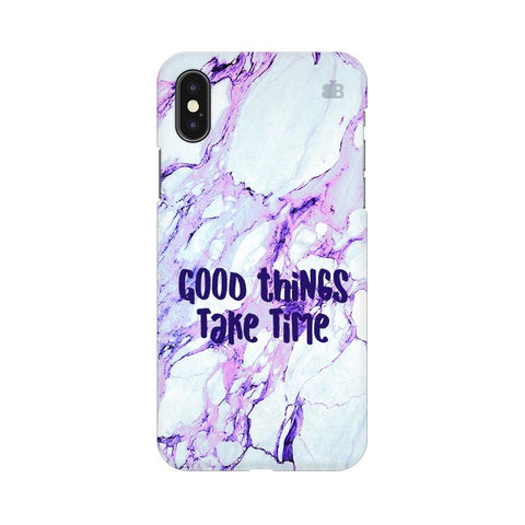Good Things Apple iPhone XS Cover