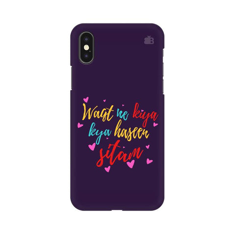 Haseen Sitam Apple iPhone XS Cover