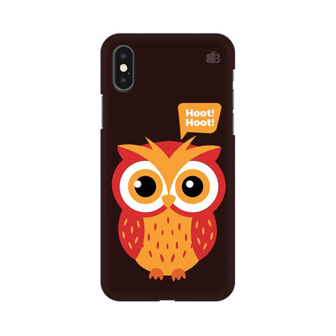 Hoot Hoot Apple iPhone XS Cover