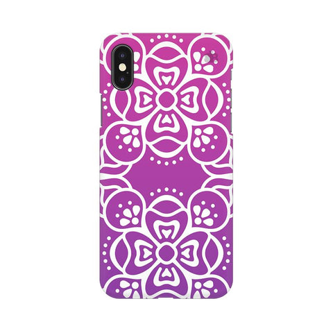 Indian Ethnic Art Apple iPhone XS Cover