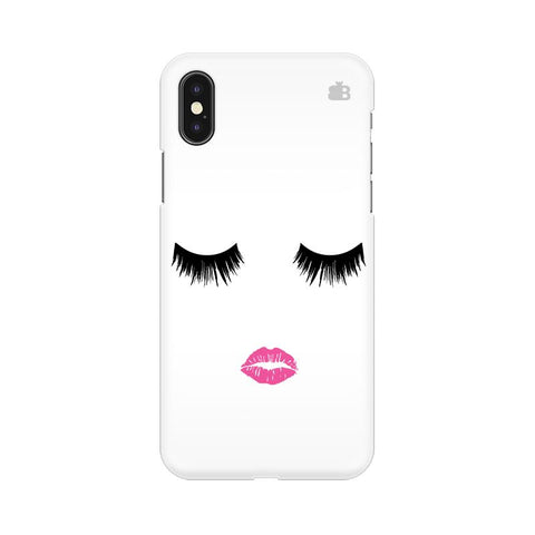 Lashes and Lips Apple iPhone XS Cover