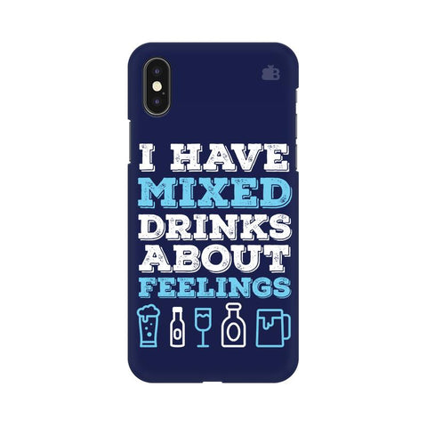 Mixed Drinks Apple iPhone XS Cover