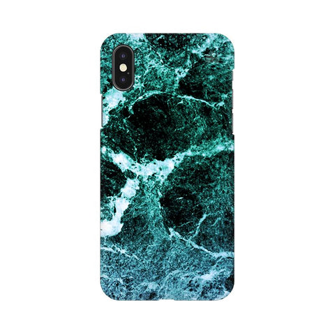 Sea Marble Apple iPhone XS Cover