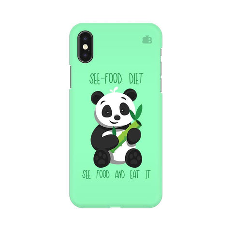 See-Food Diet Apple iPhone XS Cover