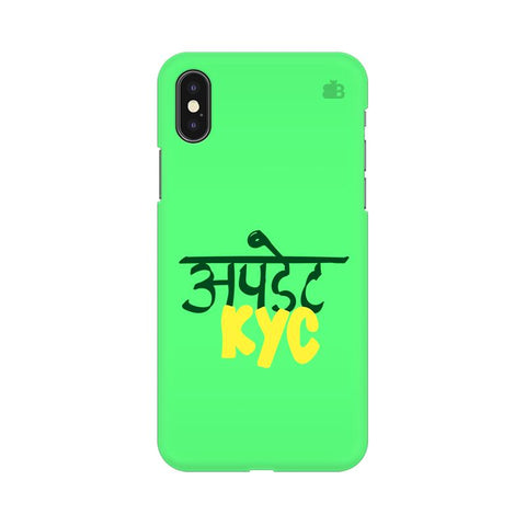 Update KYC Apple iPhone XS Cover