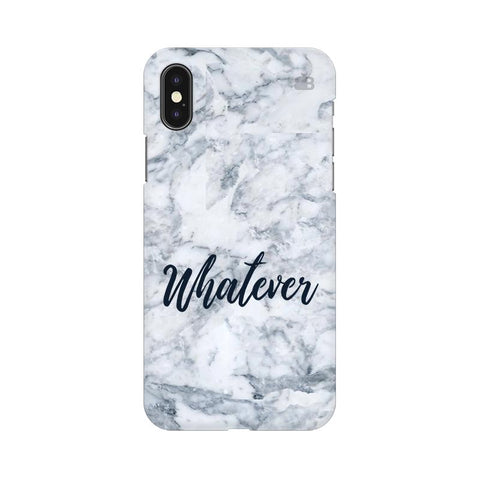 Whatever Apple iPhone XS Cover