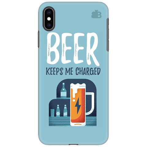 Beer Charged Apple iPhone XS Max Cover