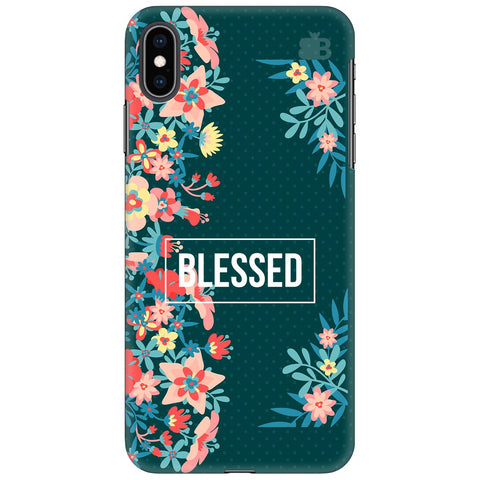 Blessed Floral Apple iPhone XS Max Cover