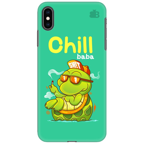 Chill Baba Apple iPhone XS Max Cover