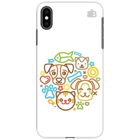 Cute Pets Apple iPhone XS Max Cover