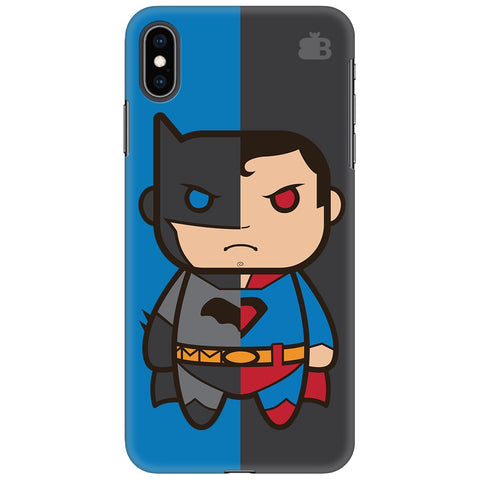 Cute Superheroes Annoyed Apple iPhone XS Max Cover