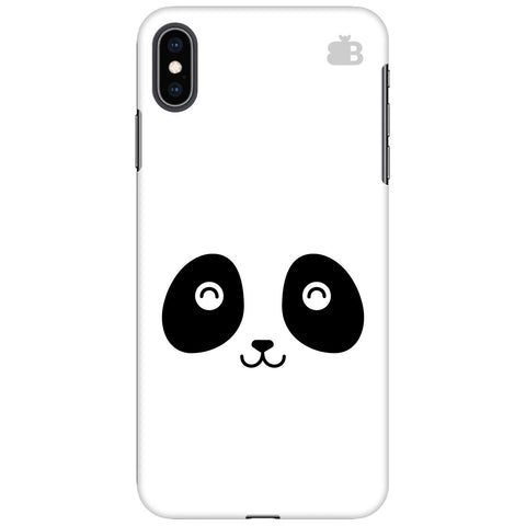 Happy Little Panda Apple iPhone XS Max Cover
