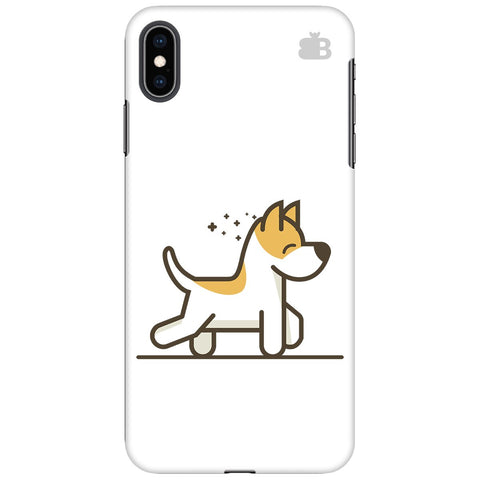 Happy Puppy Apple iPhone XS Max Cover