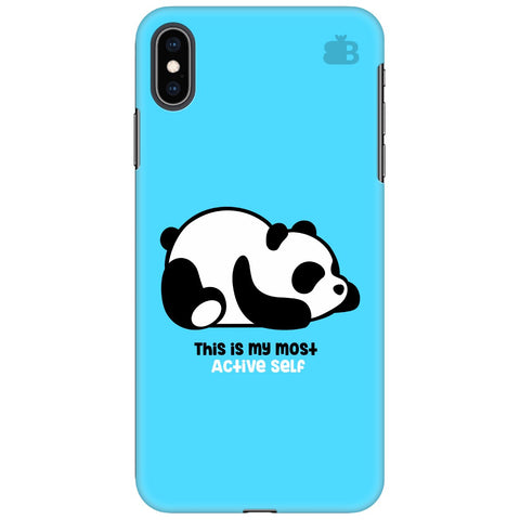 Most Active Panda Apple iPhone XS Max Cover
