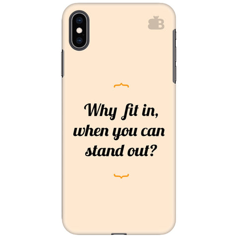 Stand Out Apple iPhone XS Max Cover