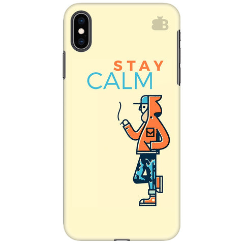 Stay Calm Apple iPhone XS Max Cover