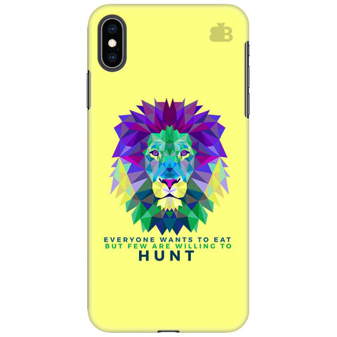 Willing to Hunt Apple iPhone XS Max Cover