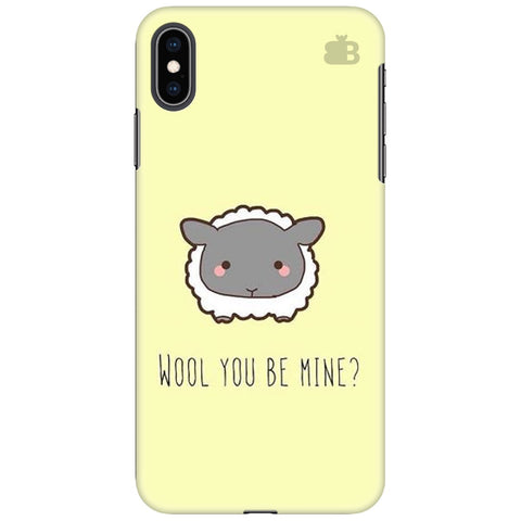 Wool Apple iPhone XS Max Cover