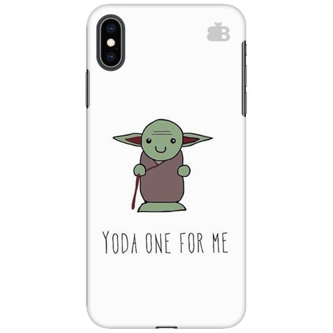 Yoda One Apple iPhone XS Max Cover