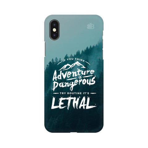 Adventure Apple iPhone X Phone Cover