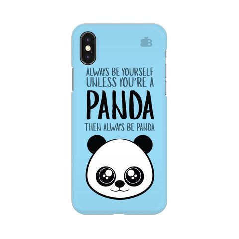 Always be panda Apple iPhone X Phone Cover