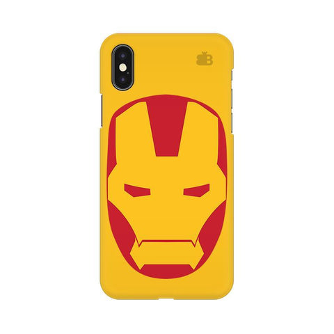 Angry Superhero Mask Apple iPhone X Phone Cover
