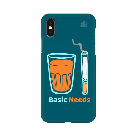 Chai Sutta Basic Apple iPhone X Cover