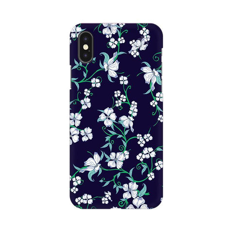 Dogwood Floral Pattern Apple iPhone X Phone Cover