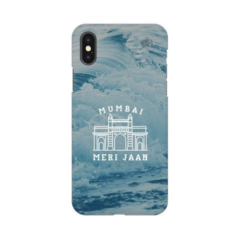 Mumbai Meri Jaan Apple iPhone X Cover