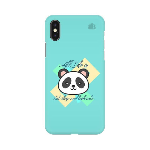 Panda Life Apple iPhone X Phone Cover