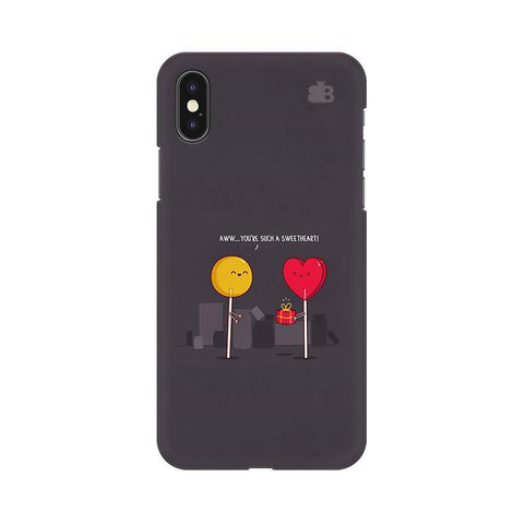 Sweetheart Apple iPhone X Phone Cover