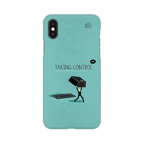 Taking Control Apple iPhone X Phone Cover