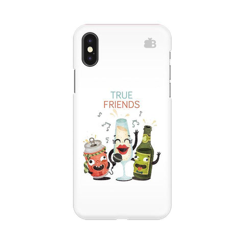 True Friends Apple iPhone X Phone Cover