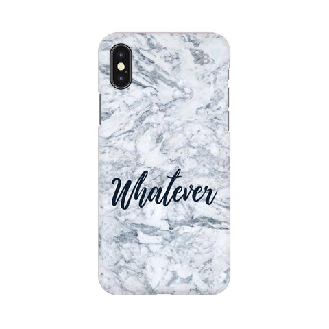 Whatever Apple iPhone X Phone Cover