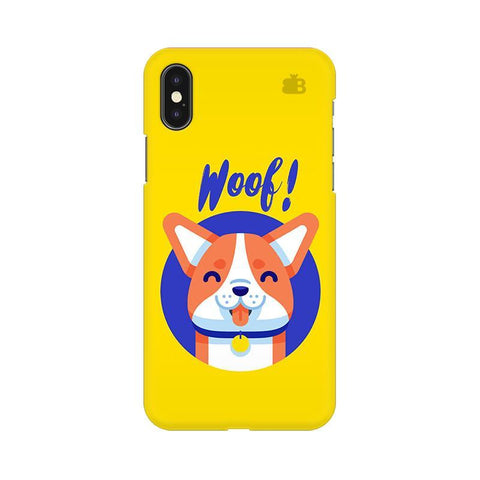 Woof Apple iPhone X Phone Cover