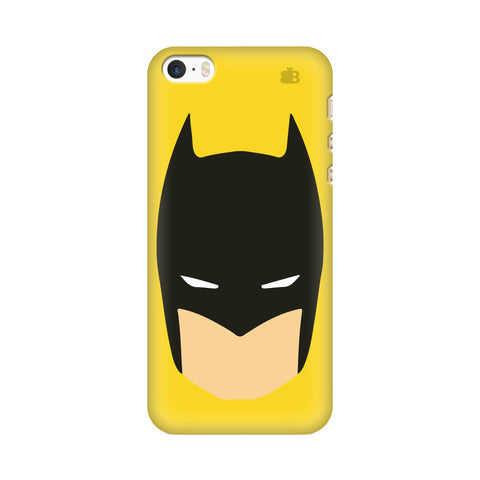 Angry Masked Superhero Apple iPhone SE2 Cover