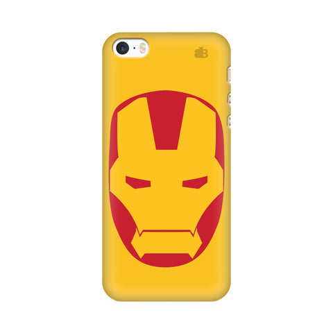 Angry Superhero Mask Apple iPhone SE2 Cover