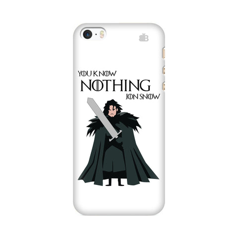 Badass Jon Snow Apple iPhone SE2 Cover