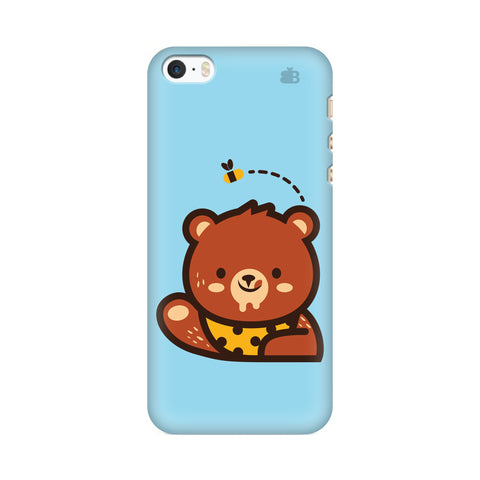 Bear Loves Honey Apple iPhone SE2 Cover