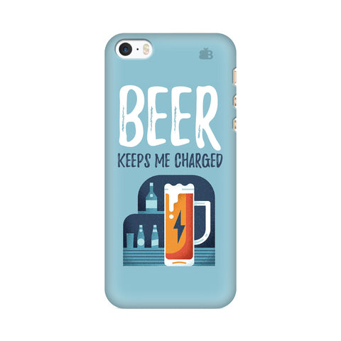 Beer Charged Apple iPhone SE2 Cover