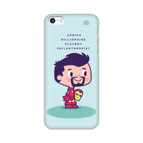 Clever Superhero Apple iPhone SE2 Cover