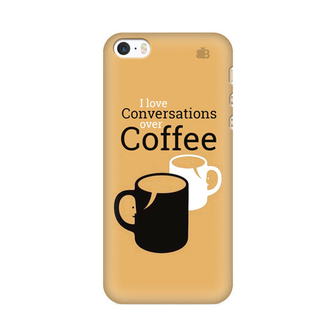 Convos over Coffee Apple iPhone SE2 Cover
